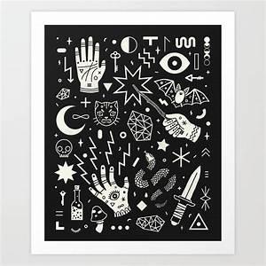 Witchcraft Art Print By Camillechew