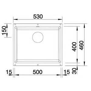 Blanco Sink Strainer Basket by Blanco Subline 500 U Undermount Silgranit Kitchen Sink And