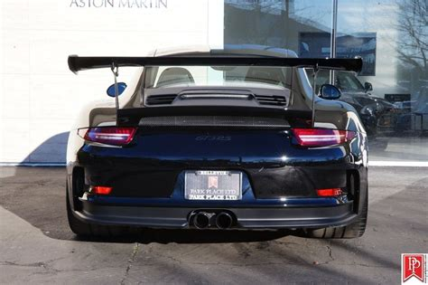 Black Gt3 Rs by Gallery Porsche 991 Gt3 Rs In Black