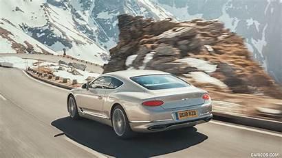 Bentley Continental Gt Sand Quarter Rear Three
