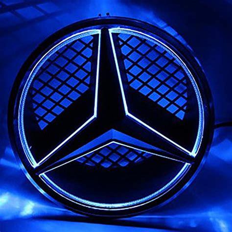 Clique na imagem que deseja para baixar o logo mercedes benz. LIGHTUPRO Car Front Grille Star Emblem LED LOGO for MERCEDES BENZ Original BADGE light Front ...