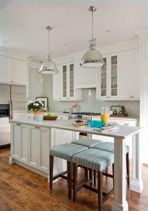 38 amazing narrow kitchen island with seating ideas