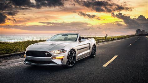 2019 Ford Mustang Gt Convertible California 4k Wallpaper