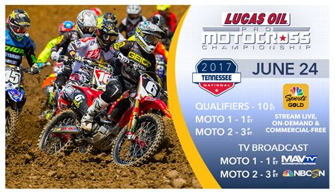Lucas Oil Pro Motocross How To Watch Tennessee