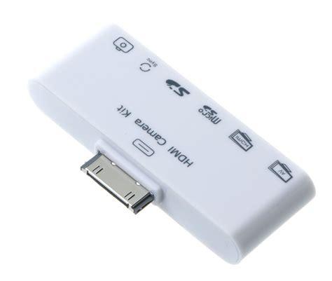hdmi connection kit tv set adapter  ipad    micro sd card reader ebay