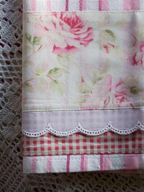 shabby chic tea towels shabby chic pattern pretty in pink pinterest quilt border shabby chic and towels