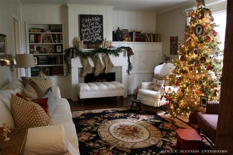 christmas home interiors room decorating before and after makeovers