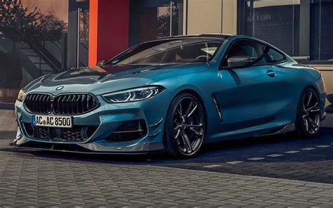 bmw 8 series tuned by ac schnitzer is a sight to behold