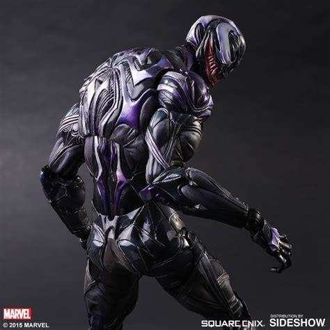 Alien Vs Predator Wallpaper Marvel Venom Variant Collectible Figure By Square Enix Sideshow Collectibles