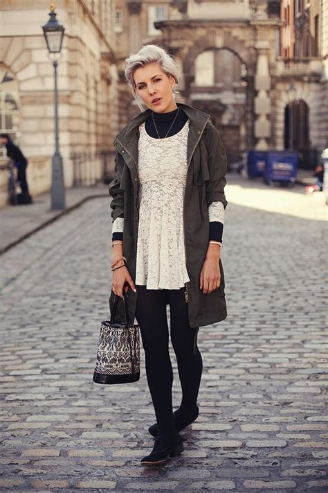 10 Best images about White Dresses for Winter on Pinterest | Dress black Lace leggings and Boots