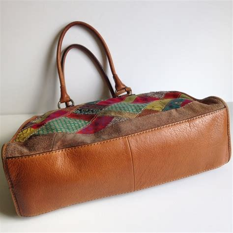 Dawson Zip Patchwork Fossil 78 fossil handbags fossil large multicolor