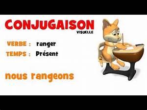Partir Au Futur : conjugaison ranger pr sent youtube ~ Maxctalentgroup.com Avis de Voitures