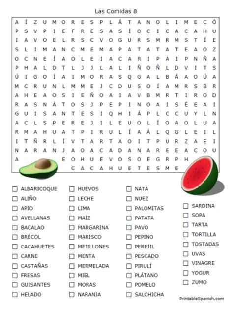 word for cuisine worksheets printables worksheets