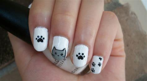 cat nail designs cat nail design by itsbejarano on deviantart