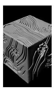 Cube geometric 3D - TurboSquid 1462948