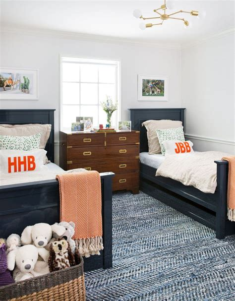 twin bed for boys beds and patterned textured rug 17610