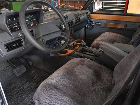 vintage range rover interior bat exclusive the pilot s 1 owner 1988 range rover