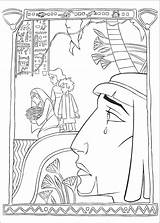 Egypt Prince Coloring Pages Movie Print Clips sketch template