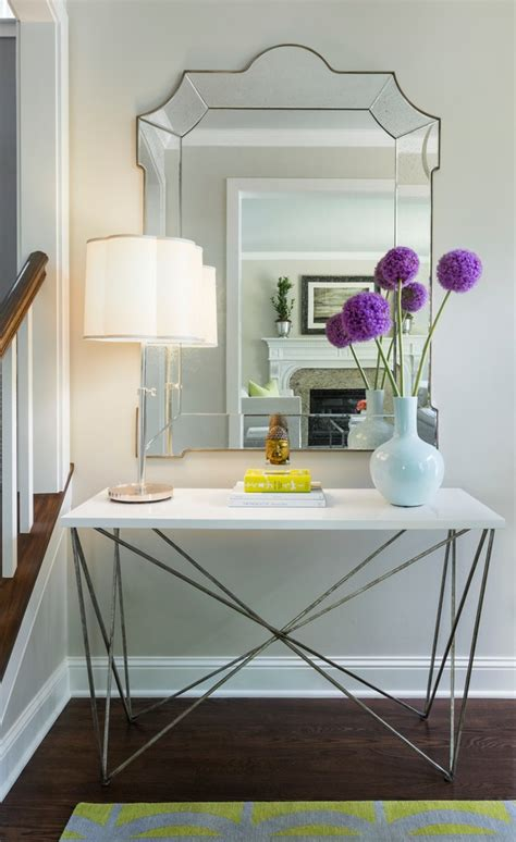 awesome modern entryway table list
