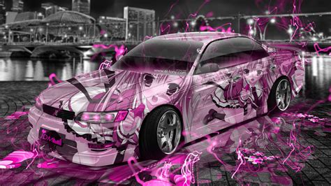 Anime Jdm Wallpaper by Toyota Mark2 Jzx90 Jdm Tuning Anime Aerography City Car