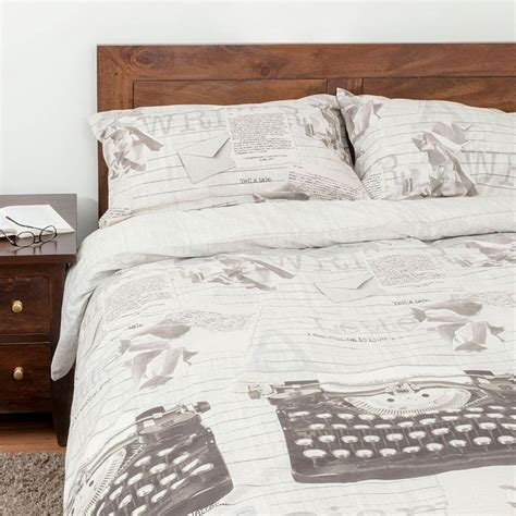 Duvet Covers Vintage Style by Duvet Cover With Pillowcase Printed Design Nautical