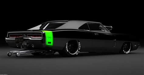 dodge charger rt pro stock drag car  transcdent