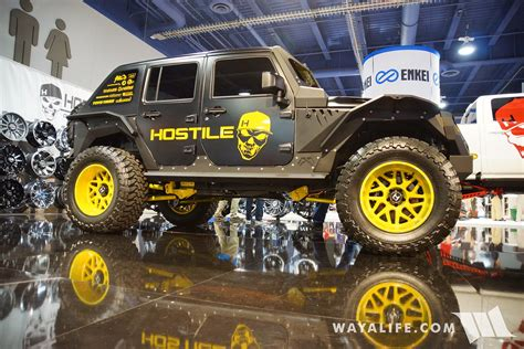 sema hostile jeep jk wrangler