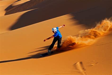 Sandboarding in Dubai - What's On