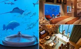 dubais underwater suites    views