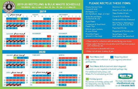 garbage collection recycling belmont nc