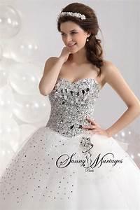 robe de mariage forme princesse blanche avec bustier coeur With robe de mariée bustier strass