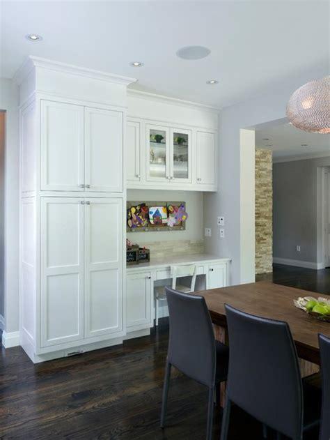 Kitchen Office Combo by Desk Pantry Houzz