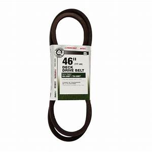 Mtd Genuine Factory Parts Deck Drive Belt For 46 In  Lawn