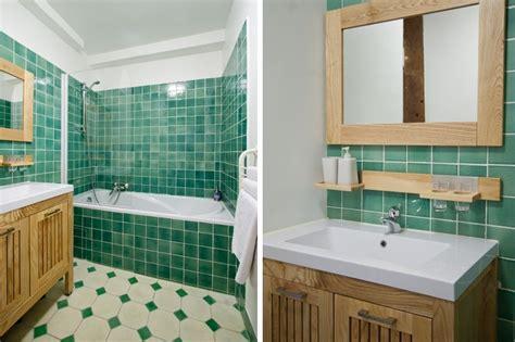 carrelage vert d eau r 233 novation salle de bain design