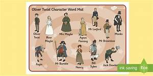 oliver twist character summary