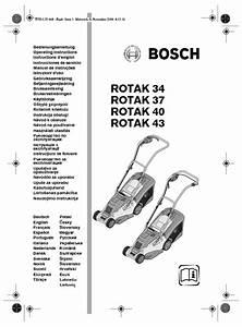 Rotak 40 Manuals
