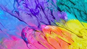 Mixed Oil Paint Wallpaper - Abstract HD Wallpapers ...