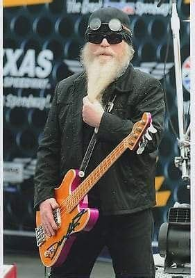 He was inducted into the rock and roll hall of fame as a member of zz top in 2004. Dusty Hill | Zz top, Cool bands, Music gear