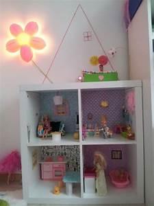 Barbiehaus Aus Holz : barbiehaus selbstgebaut puppenhaus kinder zimmer ~ Watch28wear.com Haus und Dekorationen