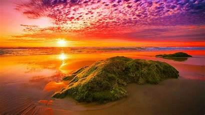 Sunset Pretty Amazing Wallpapers Fiery Nature Nice
