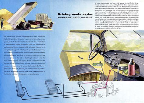1955 Mercedes L LKLS 325 brochure