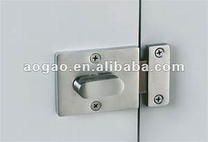 Toilet partition door lock buy toilet partition door for How to fix a bathroom door lock