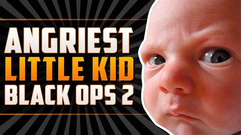 angriest  kid  black ops   rage youtube