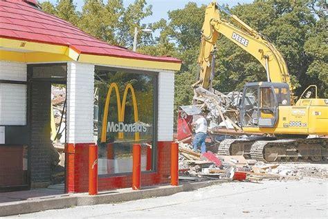 Demolition begins on first Q-C McDonald's | Economy ...