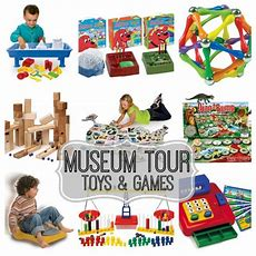 Museum Tour The Best Educational Toys & Games  Baby Dickey