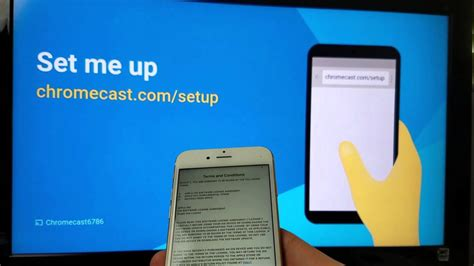 how to connect iphone to chromecast chromecast iphone how to setup to hdtv