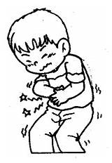 Stomachache Pain Got Ve Suwanna sketch template