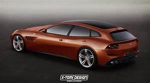 Ferrari Gtc4 Lusso : rendering ferrari gtc4 lusso 5 door ~ Maxctalentgroup.com Avis de Voitures