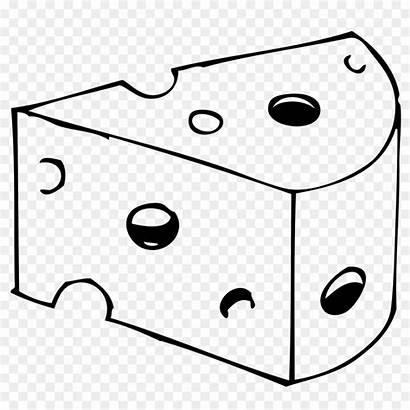 Cheese Drawing Coloring Clipart Clip Queijo Desenho