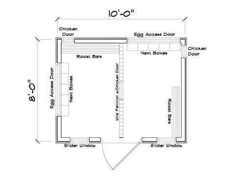 chicken coop interior layout homestead animals